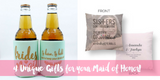 4 Unique Gifts for your Maid of Honor!