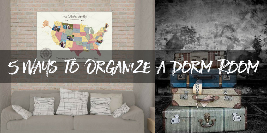 5 Ways to Organize a Dorm Room