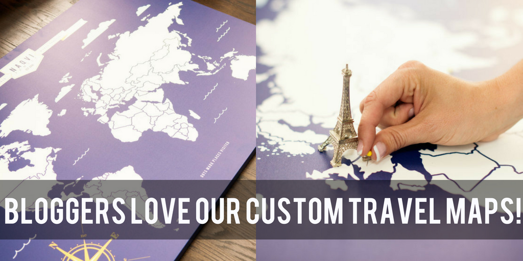 custom travel maps