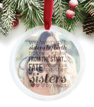 sisters ornament gift
