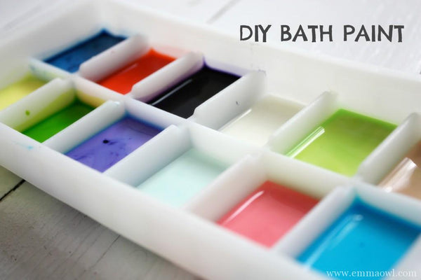 diy kids bath print