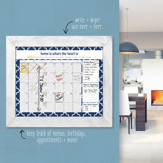 custom kitchen calendar