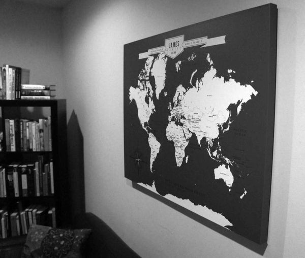 custom map canvas