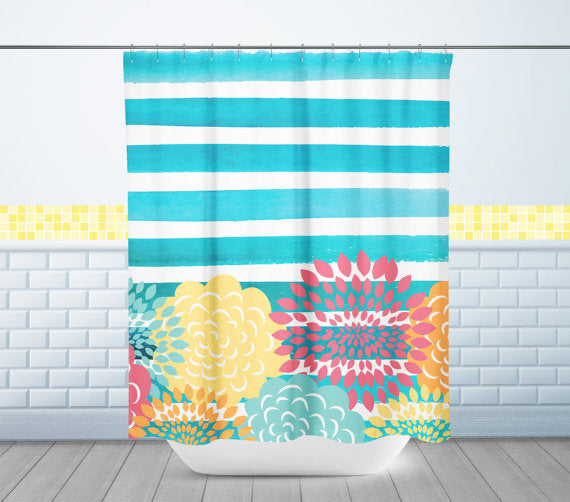 kids custom shower curtain