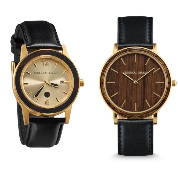handcrafted woodwatches