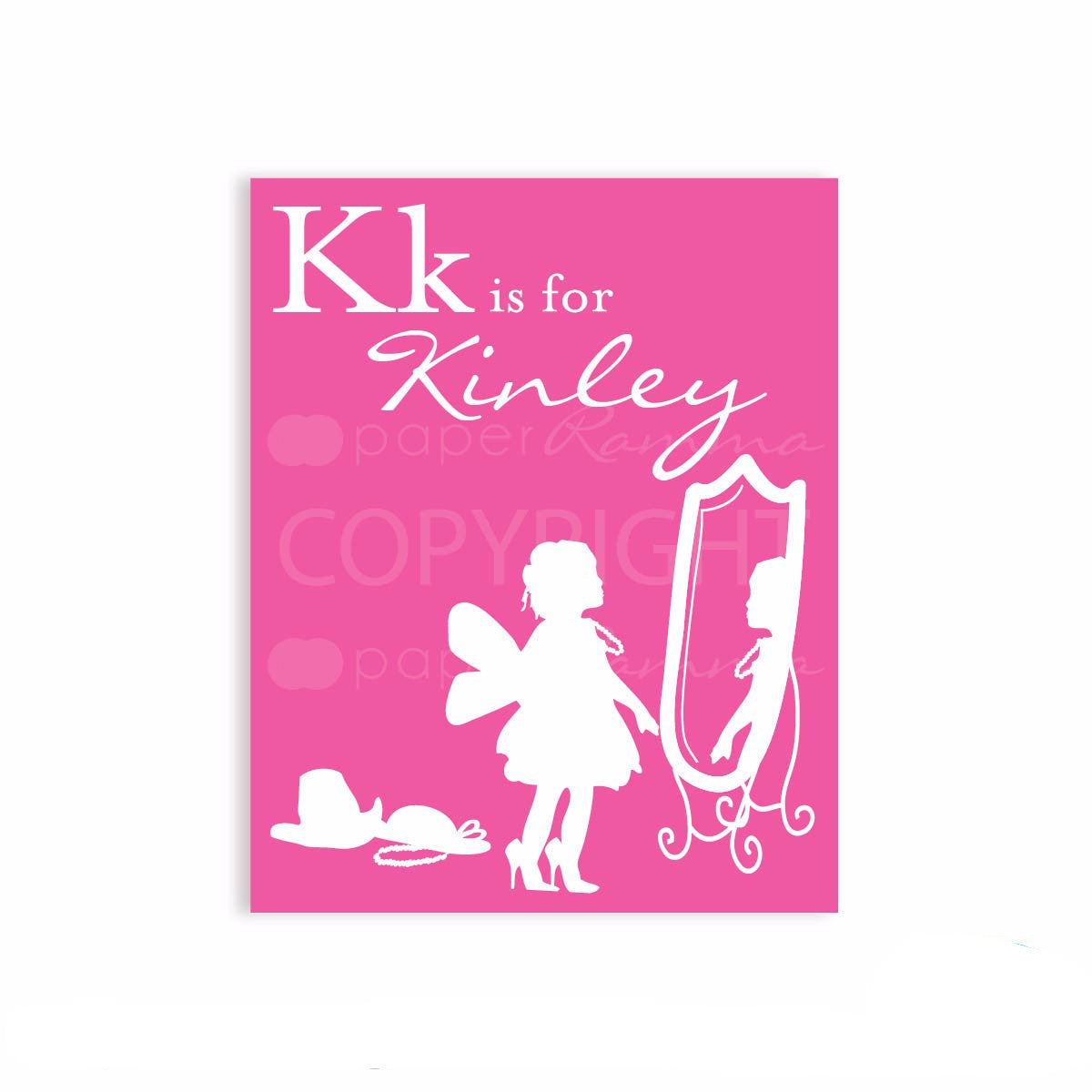 Alphabet Silhouette Nursery Art</br> <small> <i> Nursery & Kids Art Print </i> </br> <small> available in 5x7 - 20x30 </small>