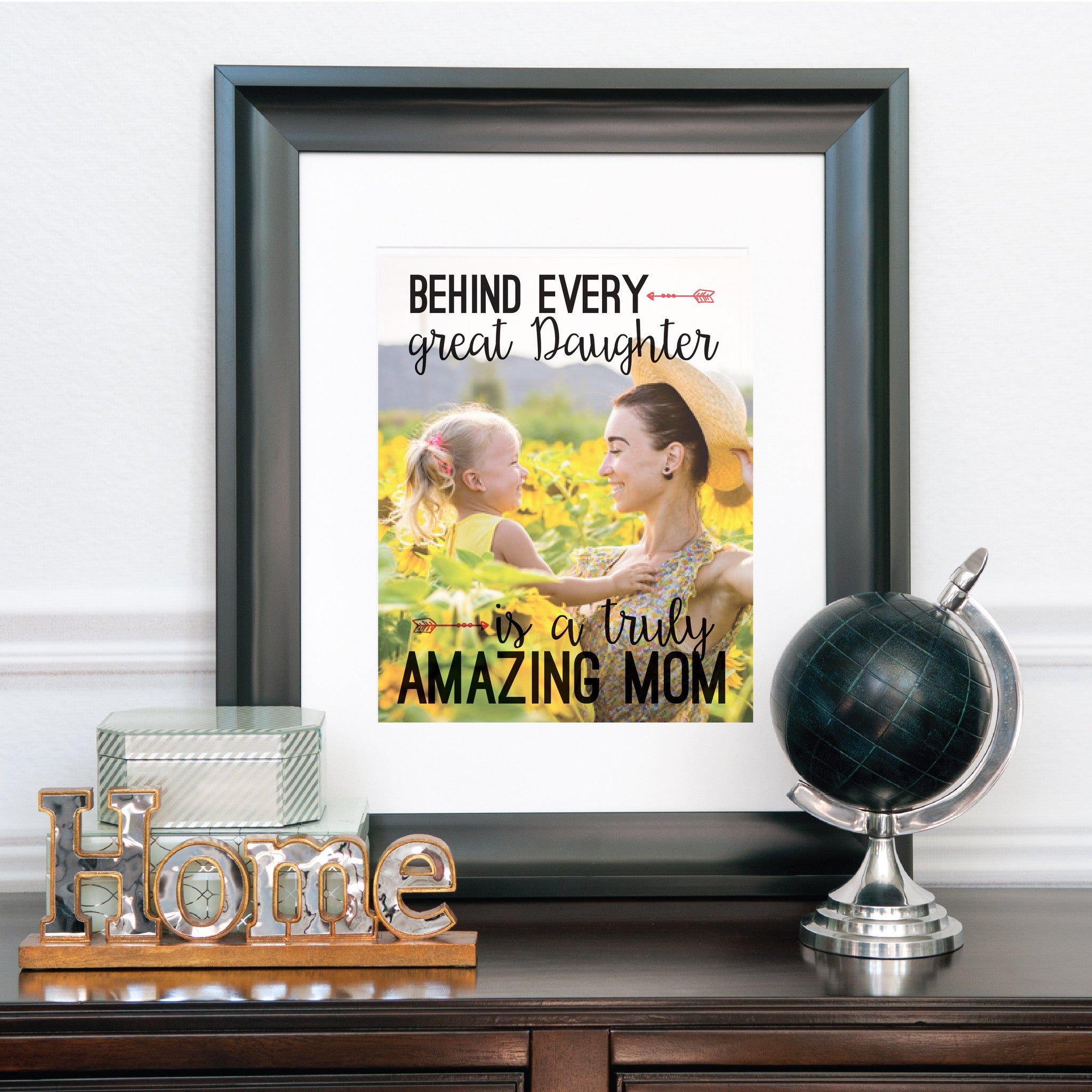 Amazing Mom Personalized Photo Quote