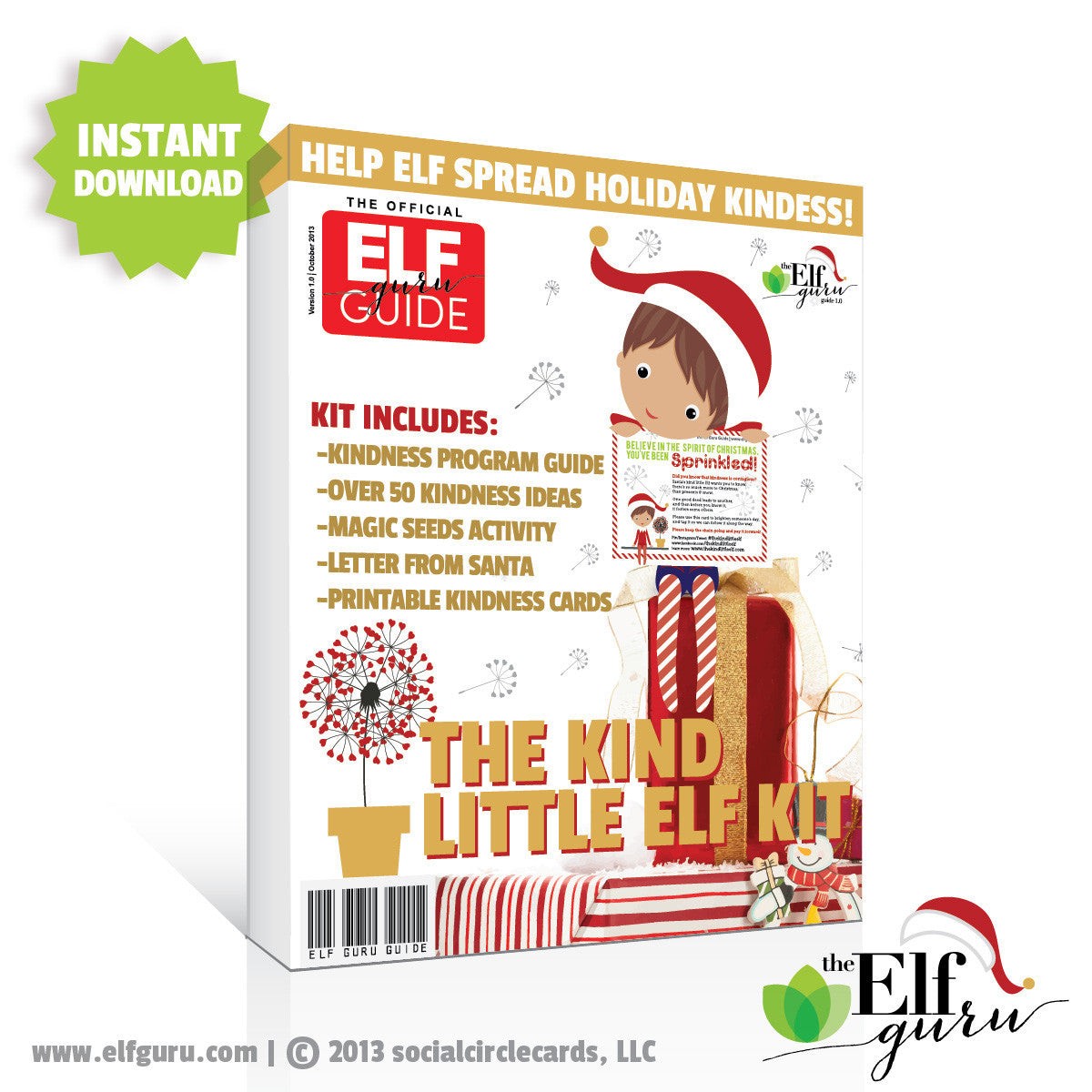 The Kind Little Elf Kit