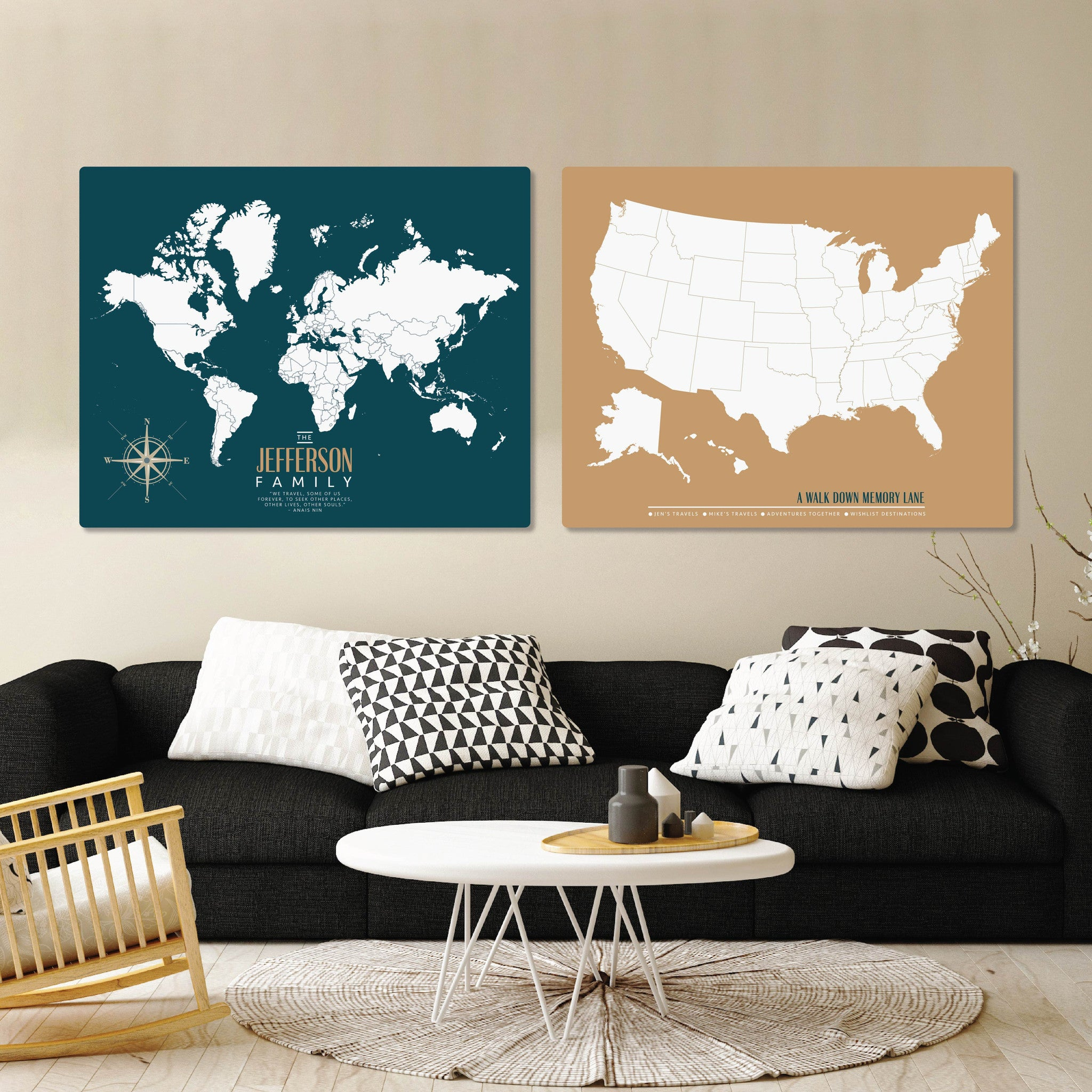 Image result for modern us travel map 76th & newbury