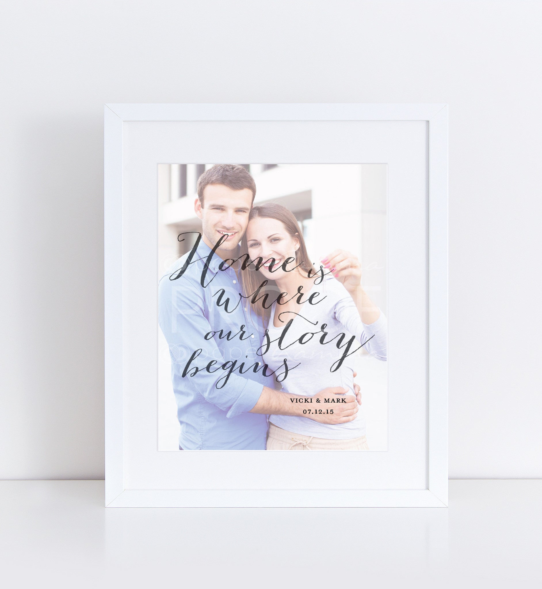 Housewarming Quote Personalized Photo Quote