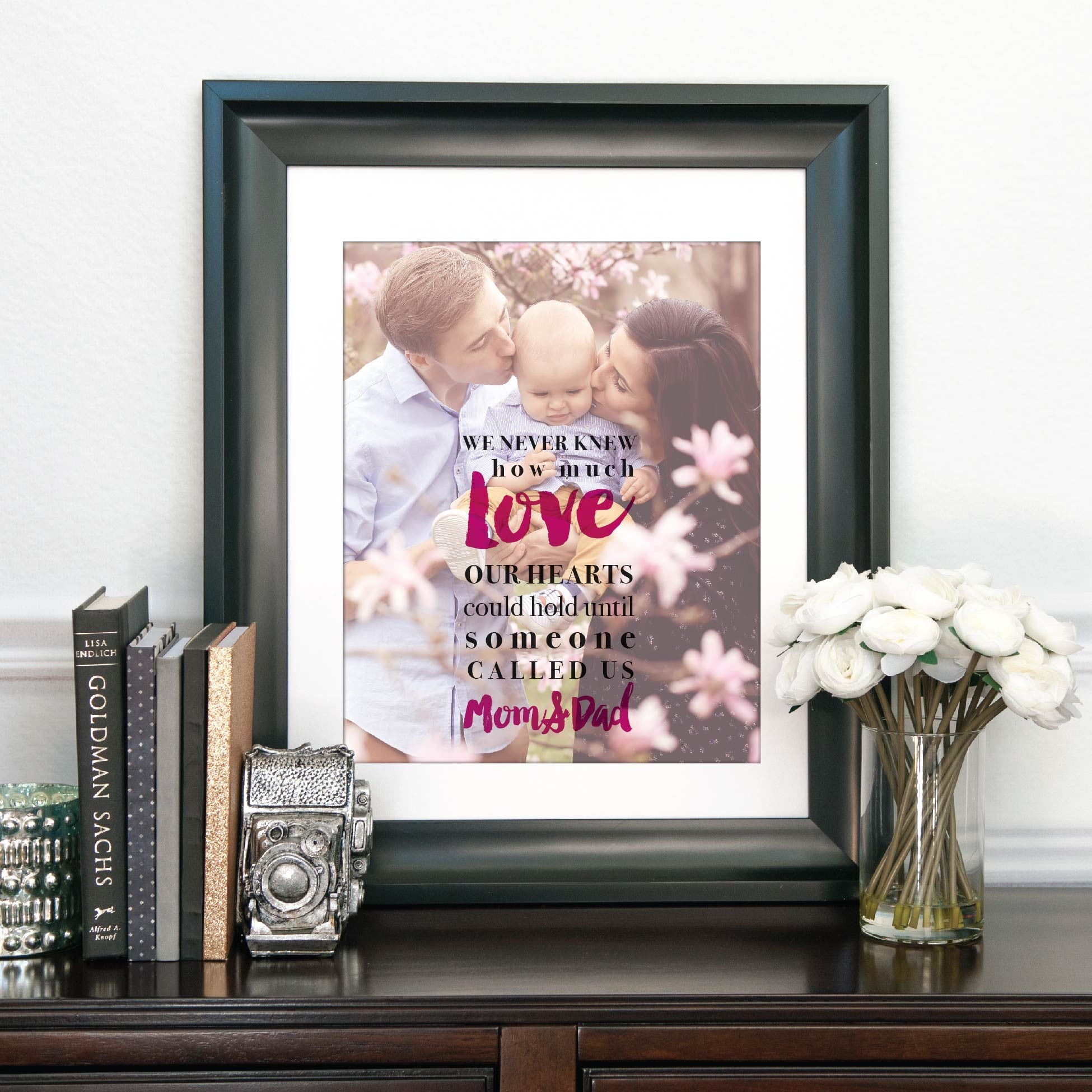 How Much Love Personalized Photo Quote