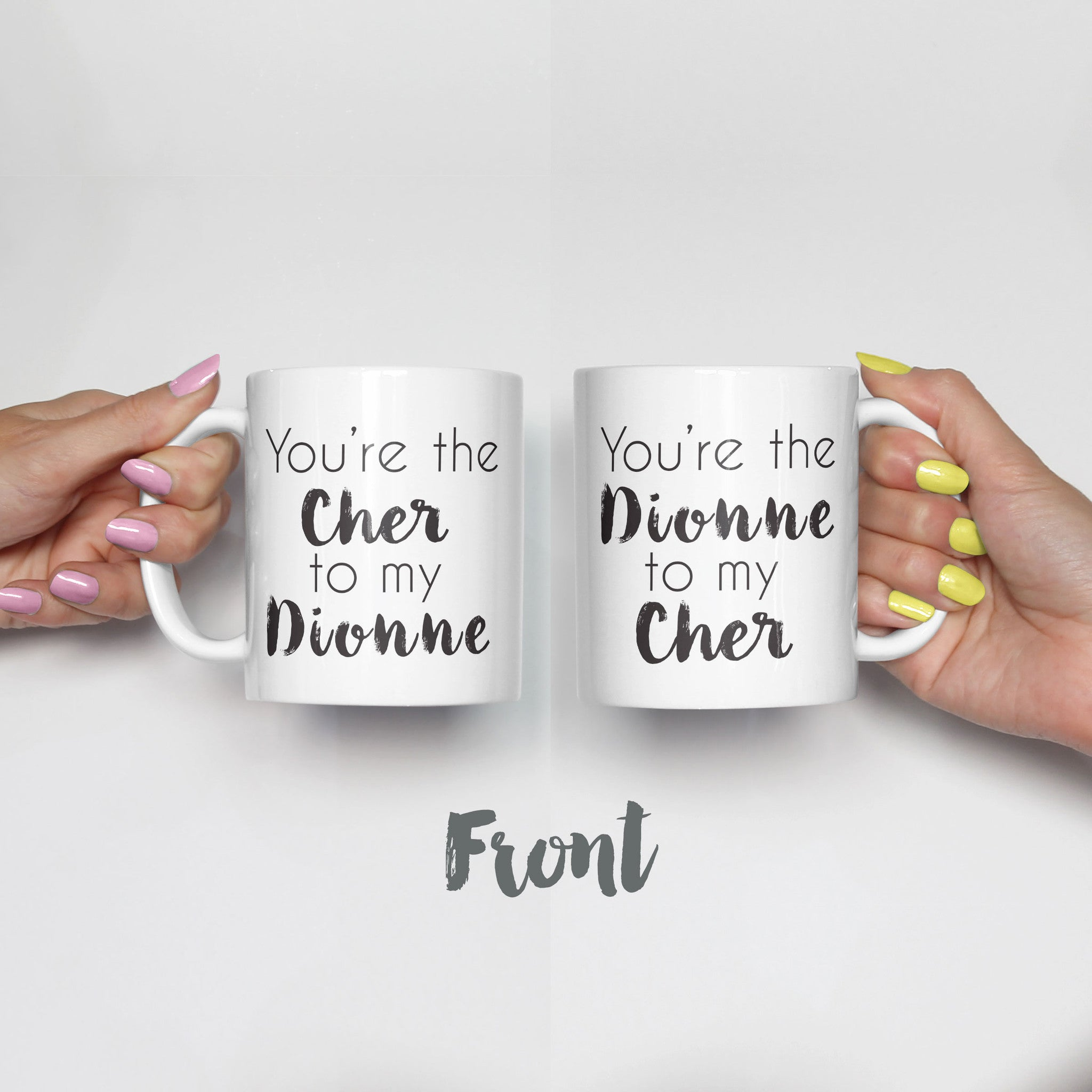 Clueless Best Friends Mug Set