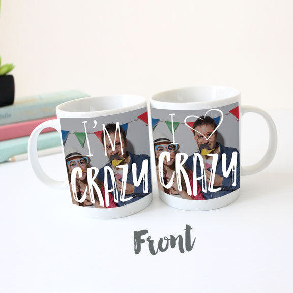 I'm Crazy, I Love Crazy Mug Set