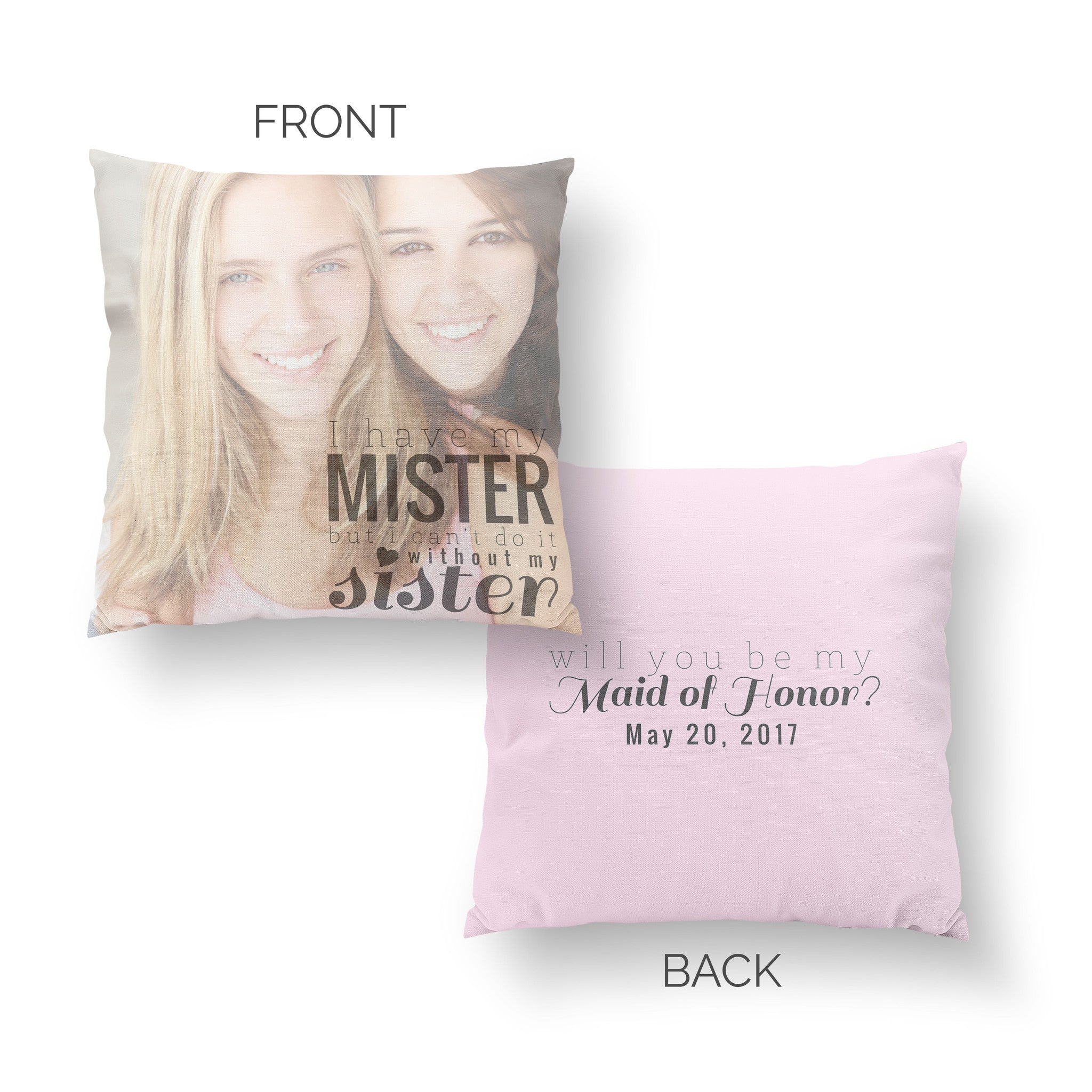 Maid of Honor Pillow