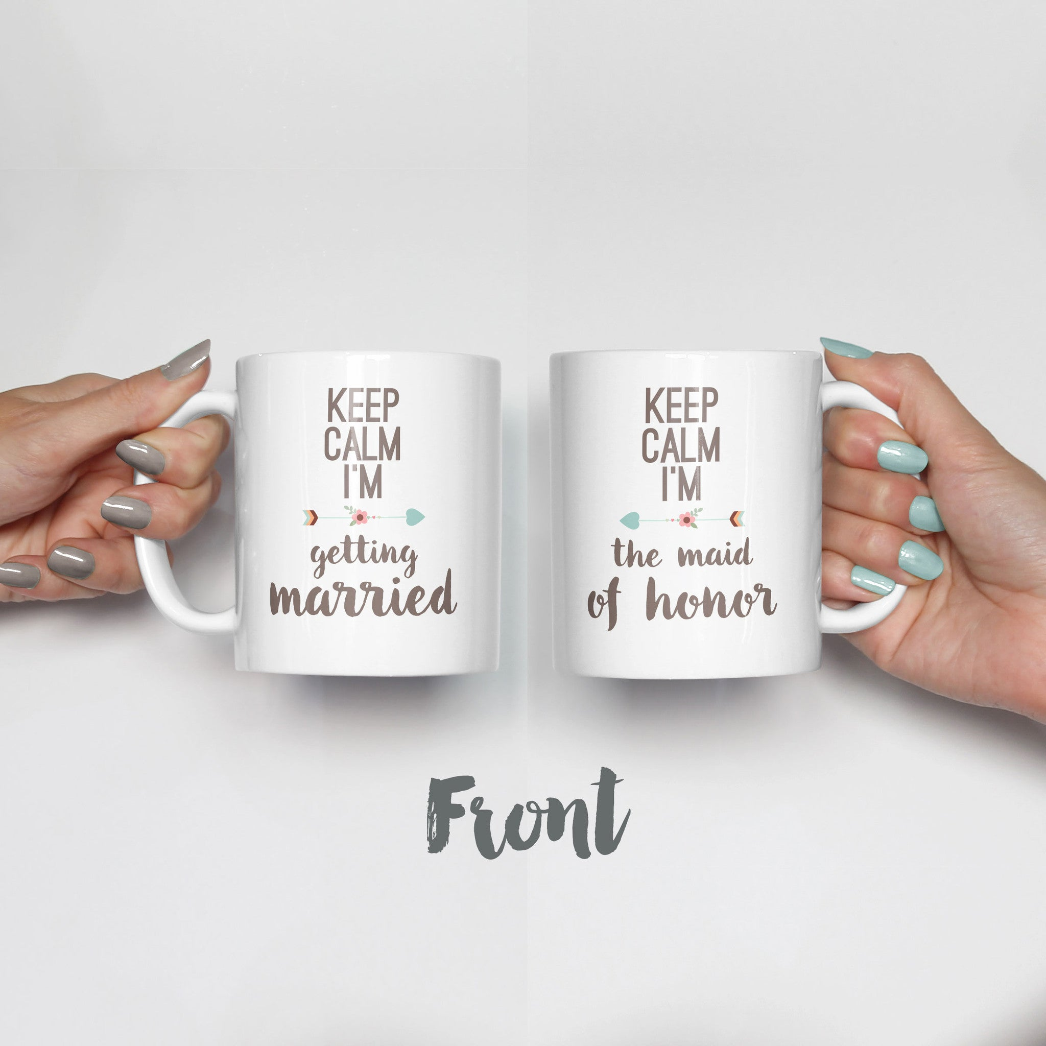 Keep Calm Mug Set
