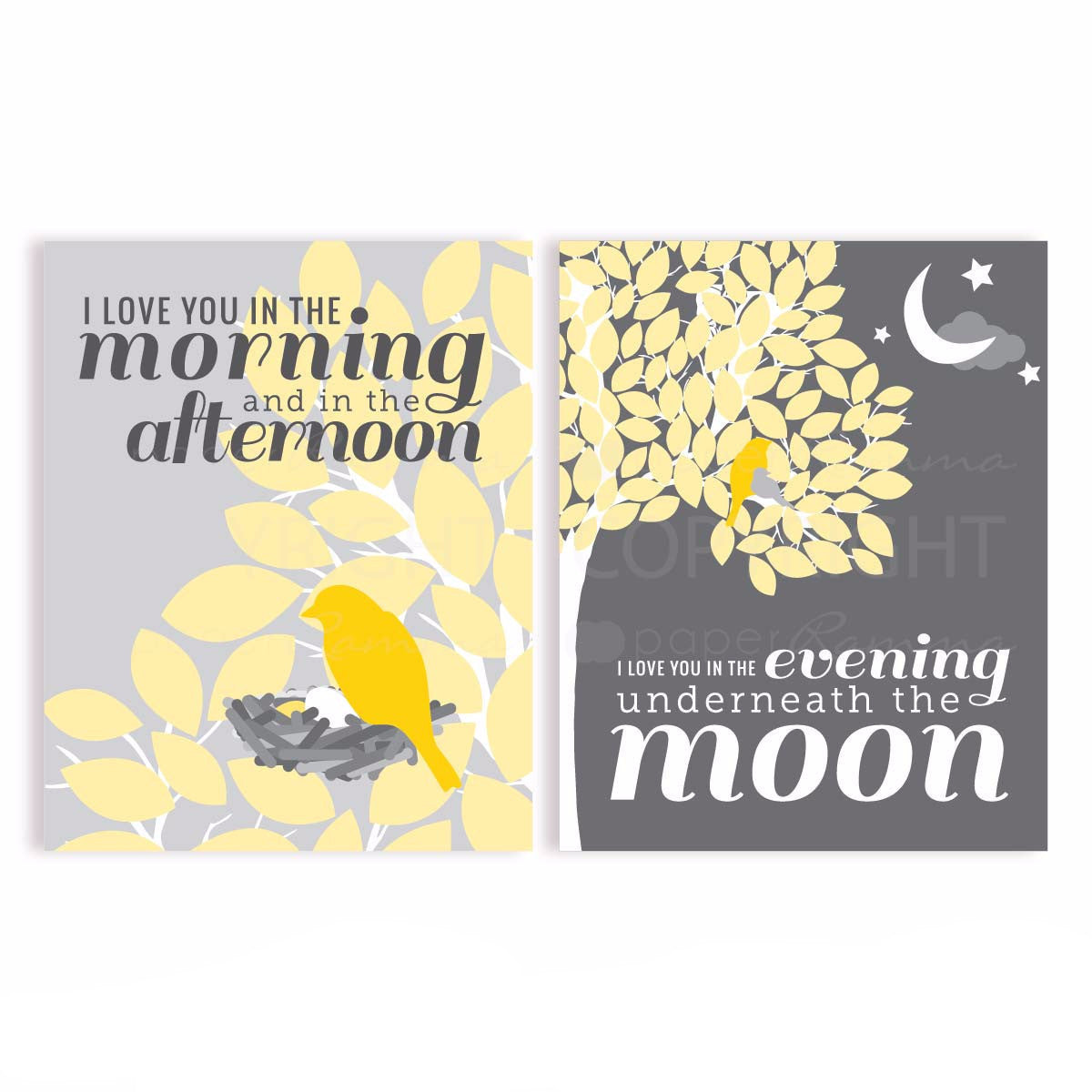 Skidamarink Nursery & Kids Art Print Set