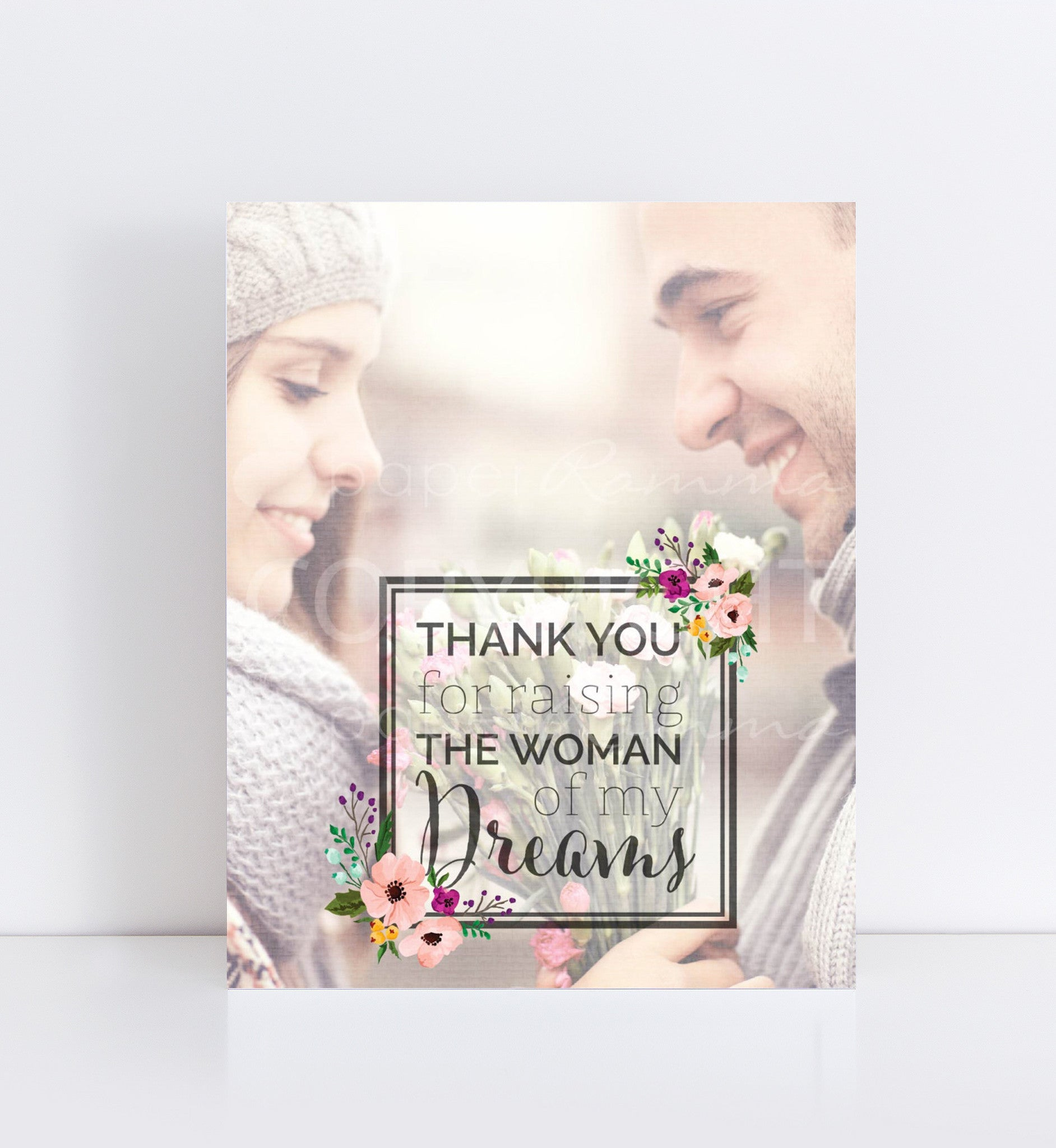 Gift From Groom, Photo Quote, Personalized Photo Gifts