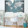 World Push Pin Map | Best Selling World Wide