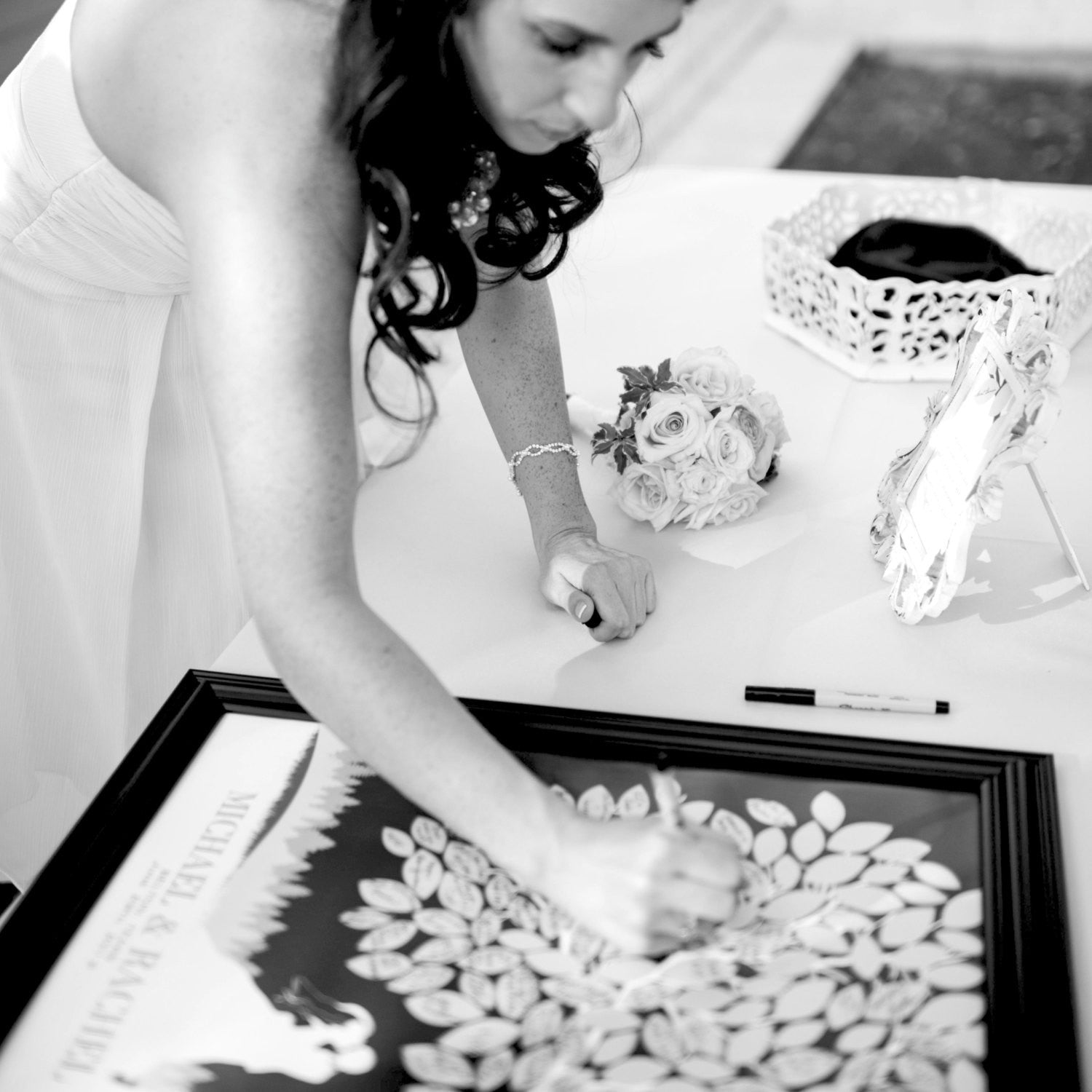 Signature guestbook for your wedding