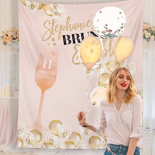 Bridal Brunch Backdrop