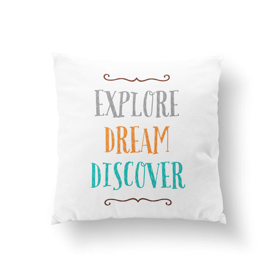 Adventure Explore Pillow