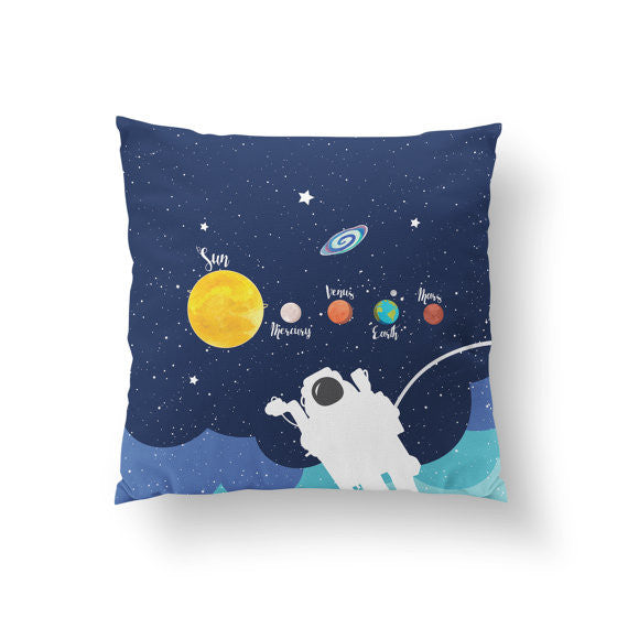 Cosmic Planets Pillow