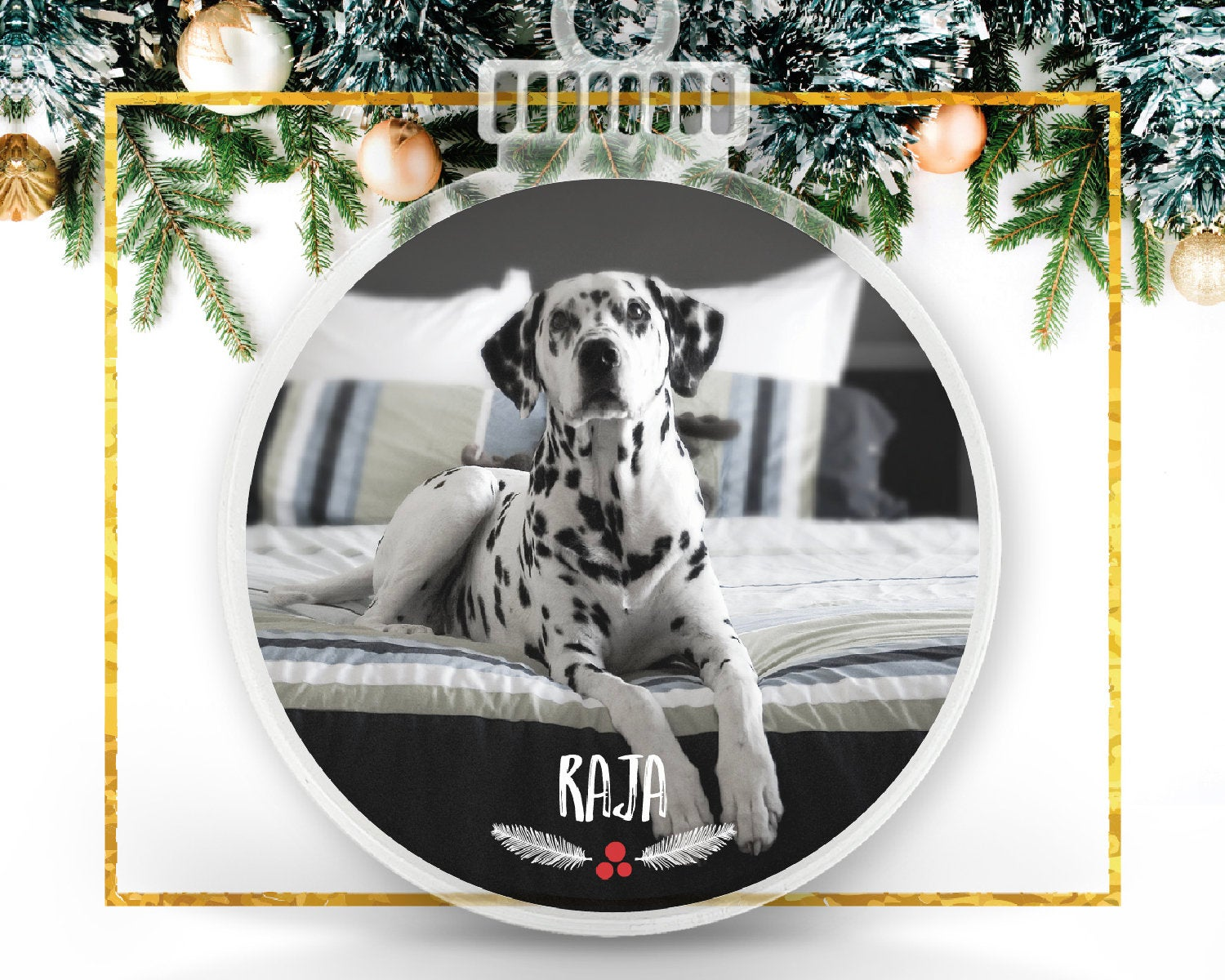 My Pet Personalized Photo Ornament