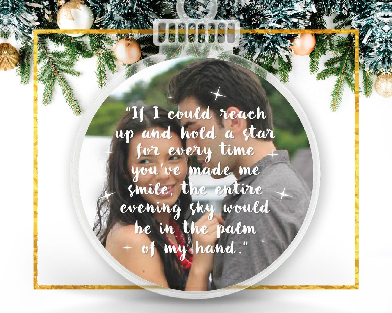 Christmas Personalized Photo Ornament