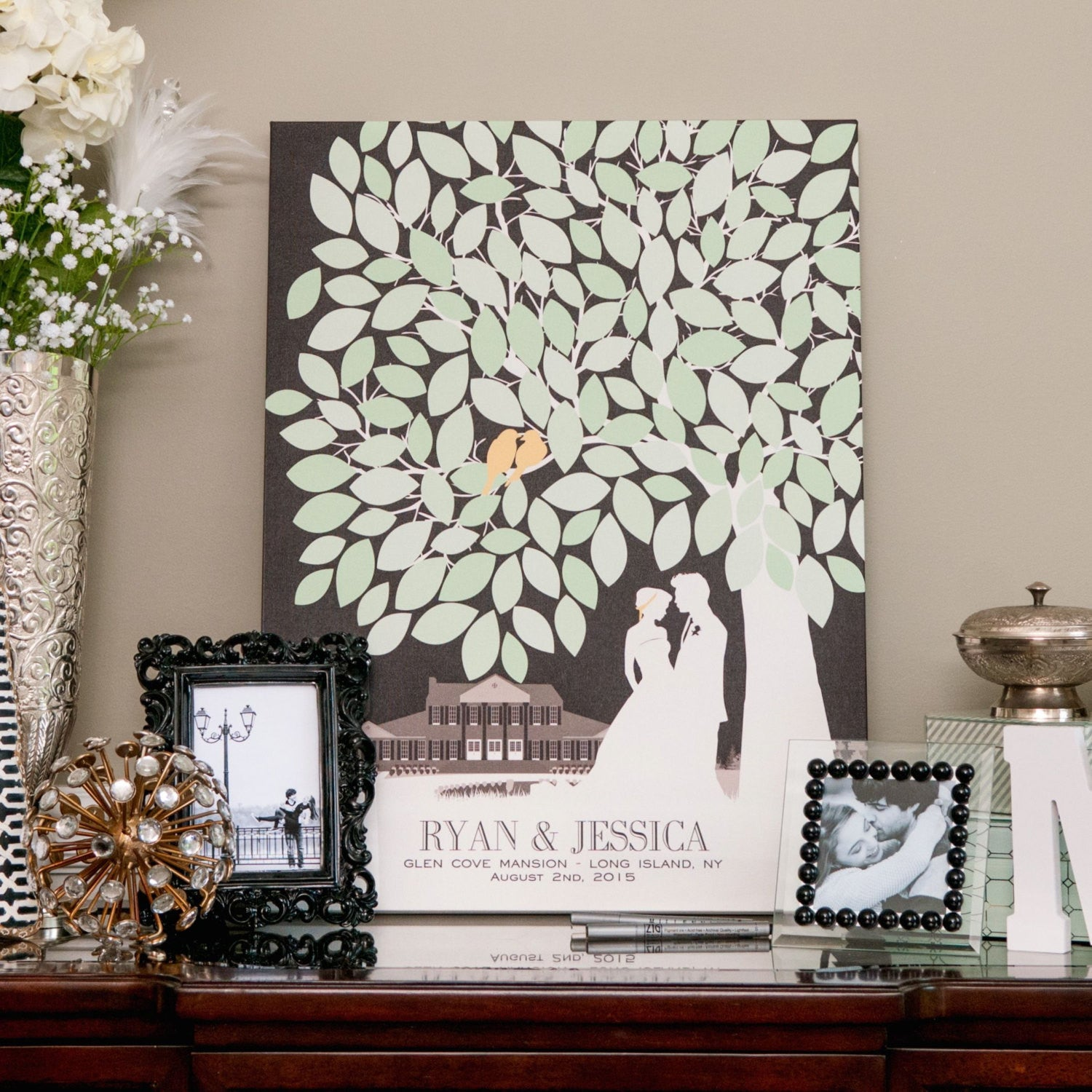 Signature guest book for your wedding