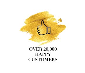 Over 20,000 Happy Customers