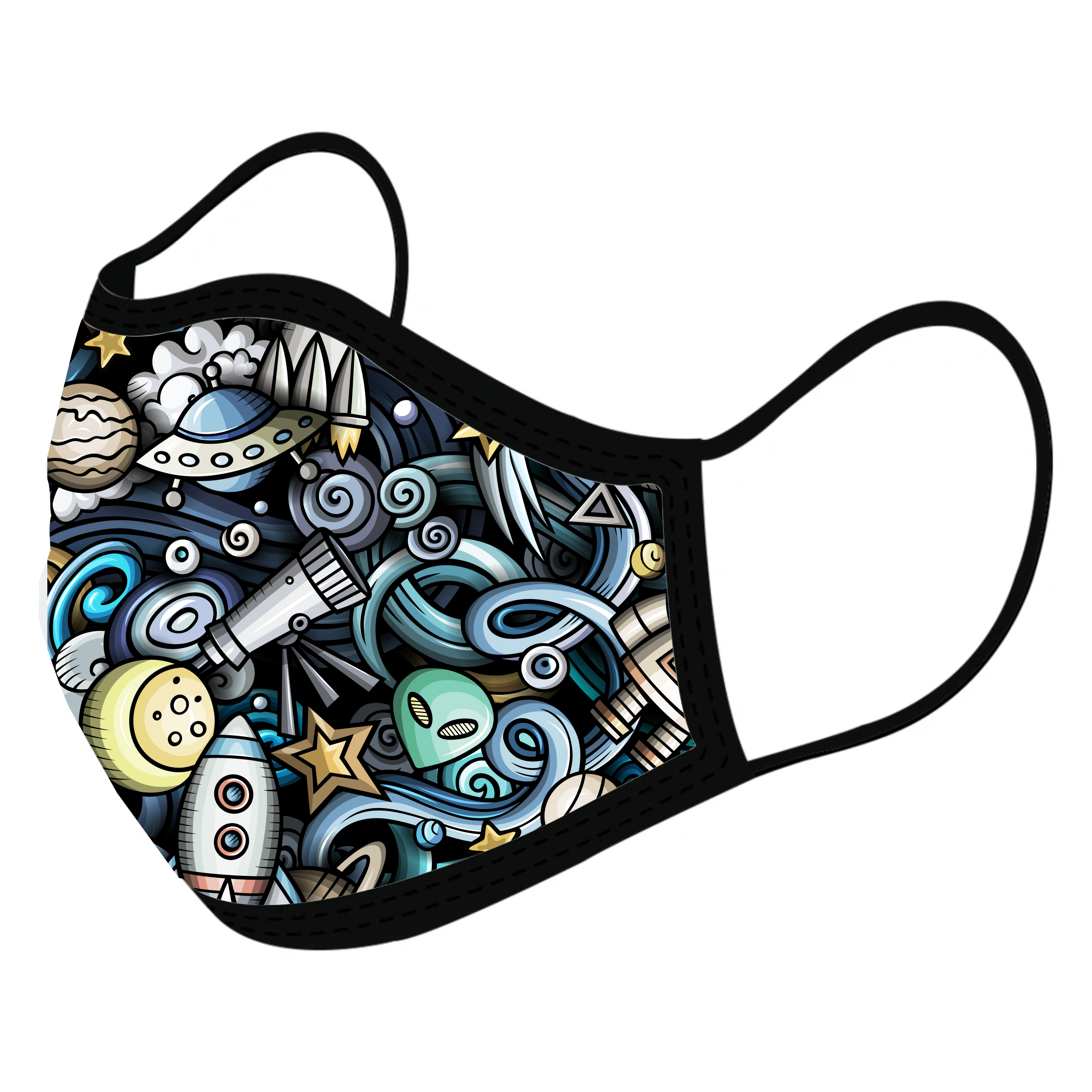 Cosmic Custom Face Masks,  - iStitchDezigns