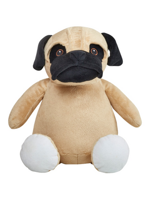 Cubbies - iStitchDezigns Stuffed Animal Pug