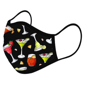 Cocktail Custom Face Masks,  - iStitchDezigns