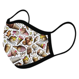 Ice Cream Custom Face Masks,  - iStitchDezigns