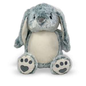 Stuffed Animal Grey Bunny