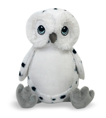 Little Elska Snow Owl - istitchdezigns