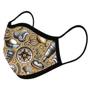 Nautical Custom Face Masks,  - iStitchDezigns