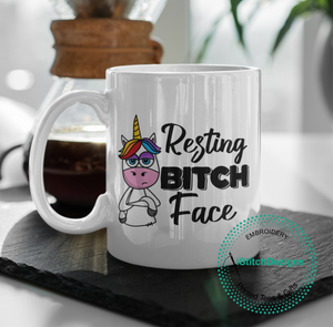 Amazing As Fuck With Flowers Coffee Mug. (1695567347806)