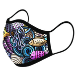Sea Creatures Custom Face Masks,  - iStitchDezigns