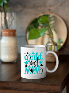 World's Best Mom  11oz & 15oz Mug.