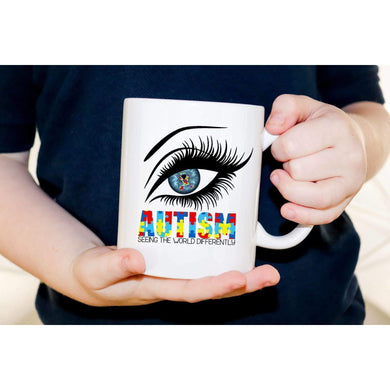 Autism Awareness Mug, Seeing The World Differently.-Awareness Mugs-iStitchDezigns (1695564595294)