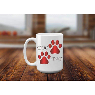 Dog Dad Mug.-Mugs-iStitchDezigns (1695565283422)