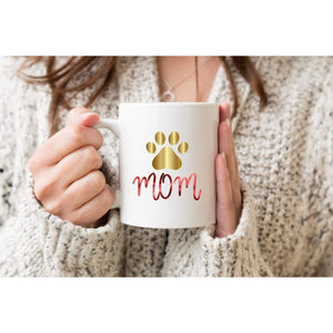Dog Lover Mom Coffee Mug.