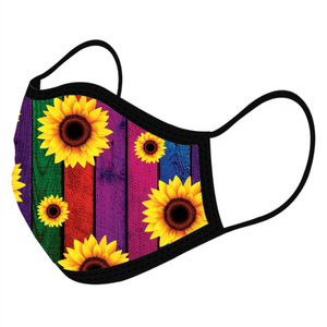 Sunflower Custom Face Masks,  - iStitchDezigns
