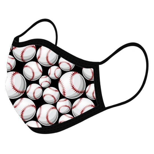 Baseball  Custom Face Masks,  - iStitchDezigns