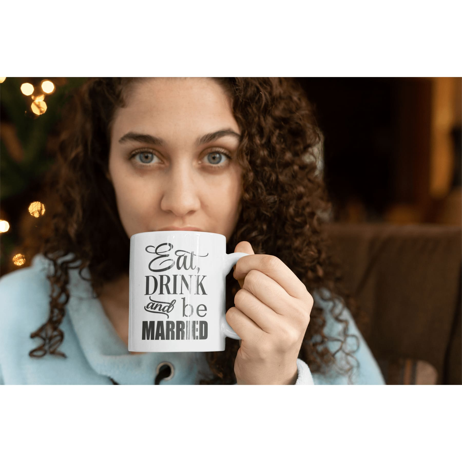 Eat Drink & Be Married Mug.