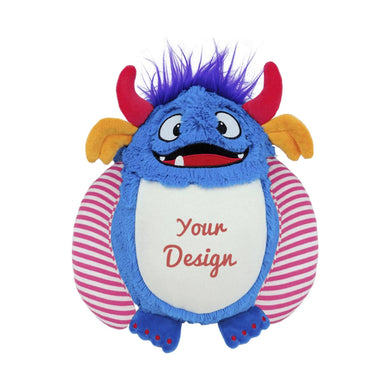 Embroidered Blue Monster (Cubbies) (3443865354334)