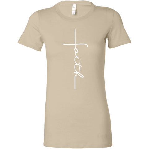 Faith Women's T-Shirt.-T-shirt-iStitchDezigns