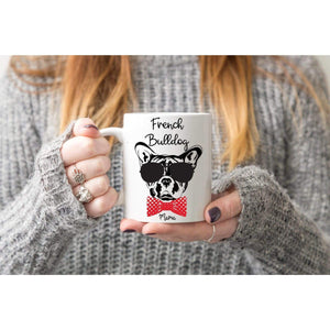 French Bulldog Mama & Papa Mugs.