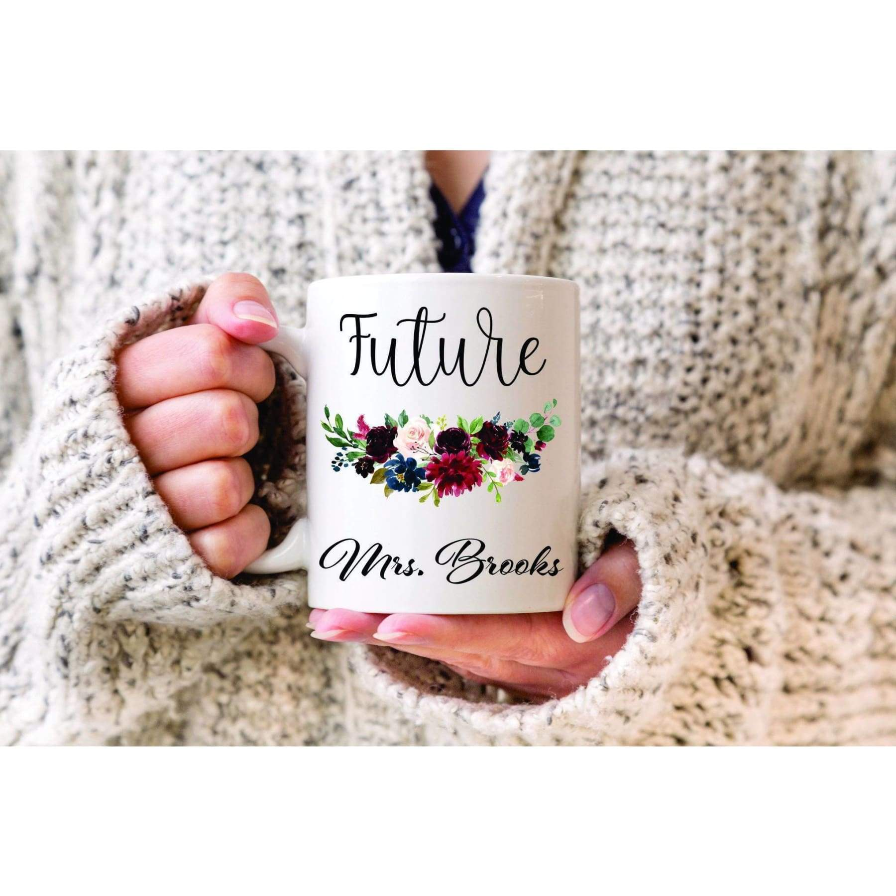 Future Mrs Mug Personalized Mug.